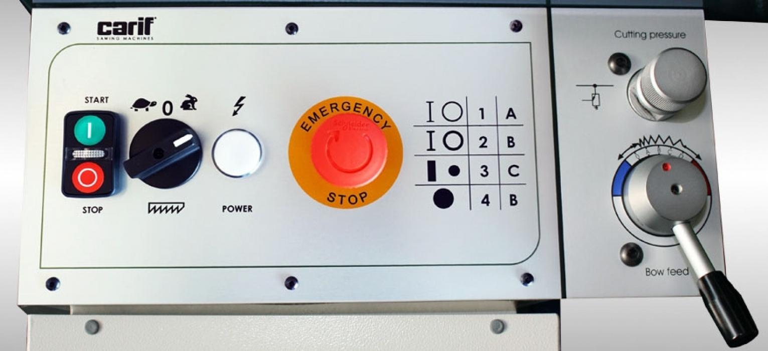 Полуавтоматический ленточнопильный станок CARIF 450 BSA