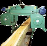 Ленточно-пильный станок для горизонтальной распилки бревен ТТ-700
